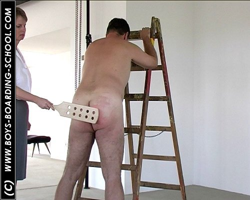 Femdom boarding house for boys